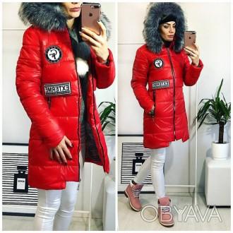 ᐈ Стильная Женская зимняя куртка пальто размер 44 8c74ea83f48de