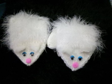 Варежки рукавички котики. Київ. фото 1