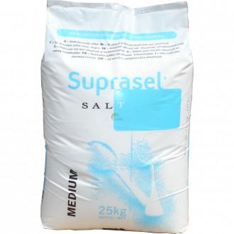 Соль средняя. Высокой чистоты, выпаренная, вакуумная Suprasel Medium. Киев. фото 1