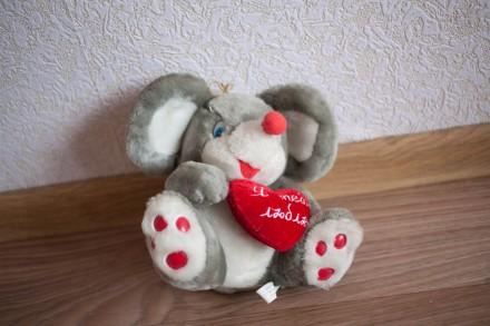 Продам мягкую игрушку Поющий мышонок на батарейках. Днепр. фото 1