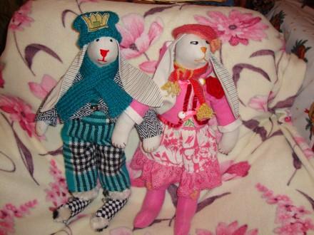 Продам куклы Тильды. Кролики.. Днепр. фото 1