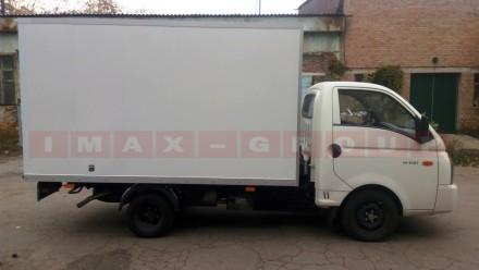 Вантажівка Hyundai H 100 з промтоварним фургоном - це легкий комерційний транспо. Черкассы, Черкасская область. фото 5