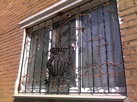 Сварные металлические решетки на окнах и дверях – это не только  возможность  . Северодонецк, Луганская область. фото 9