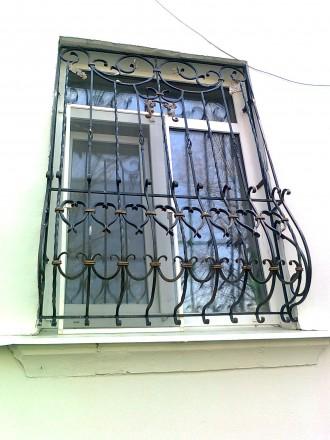 Сварные металлические решетки на окнах и дверях – это не только  возможность  . Северодонецк, Луганская область. фото 6