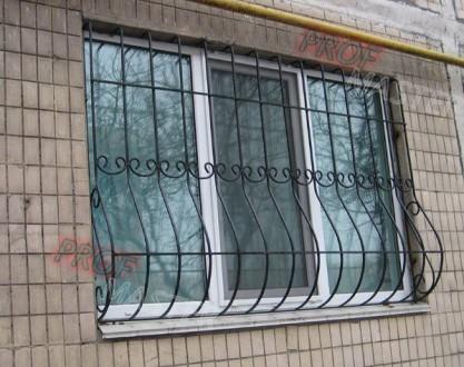 Сварные металлические решетки на окнах и дверях – это не только  возможность  . Северодонецк, Луганская область. фото 13