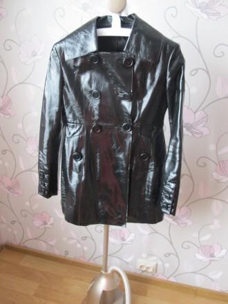 Женская Весенняя Куртка Teddy(R) size S (размер 44) Черная. Киев. фото 1