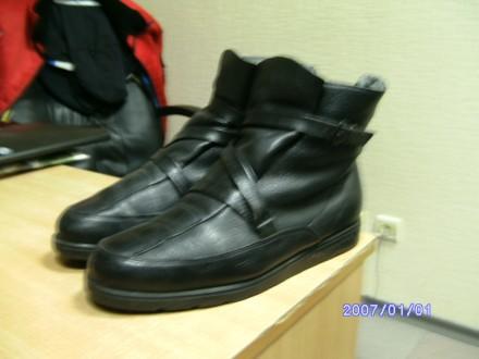 продам фирменные мужские сапоги итальянской фирмы. Киев. фото 1