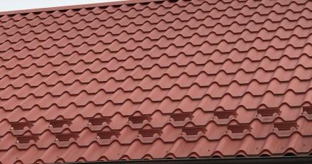 Снегозадержатель в форме подковы Такой снегорез устанавливается на крышу где пр. Киев, Киевская область. фото 4