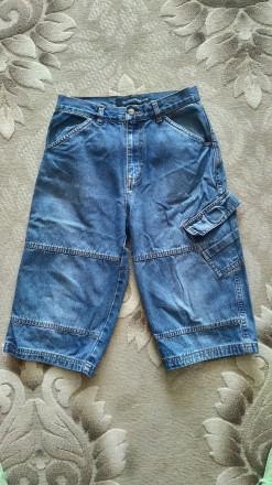 джинсовые шорты на мальчика 8-12 лет. Херсон. фото 1