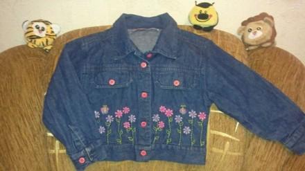 Курточка-пиджачок для принцессы 4-6 лет. Киев. фото 1