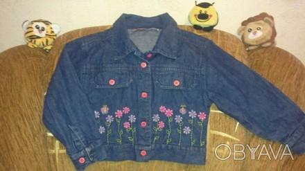 Курточка-пиджачок для принцессы 4-6 лет