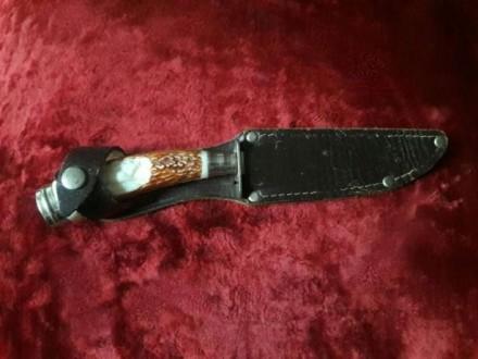 Продам ножик с рукояткой из слоновой кости. Чернигов. фото 1