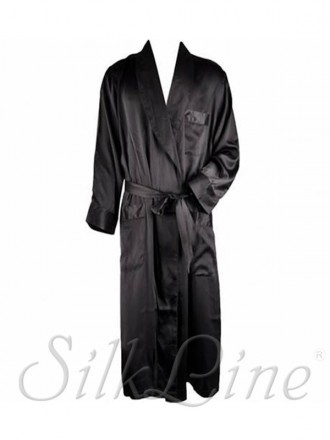 Мужские халаты из натурального шелка SilkLine купить с доставкой по Украине. Киев. фото 1