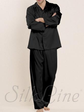 Мужская шелковая пижама SilkLine купить с доставкой по Украине. Киев. фото 1