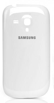 задняя крышка корпуса для Samsung Galaxy S III mini. Буск. фото 1
