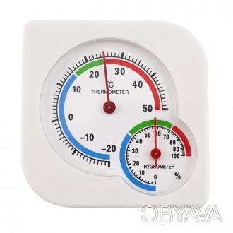 Гигрометр- термометр механический
