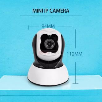 Поворотная Wi Fi IP-камера видеонаблюдения,ночная съемка,видеоняня. Киев. фото 1