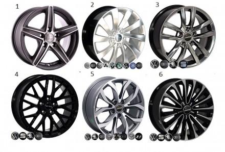 Легкосплавные диски колес ( R 13-22 ) титаны. Диск колес авто. Автодиски. Днепр. фото 1