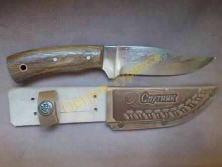"""Туристический нож Спутник """"Модель-2"""" - изготовлен из высококачественной стали 40. Полтава, Полтавская область. фото 2"""