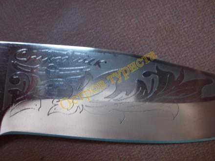 """Туристический нож Спутник """"Модель-2"""" - изготовлен из высококачественной стали 40. Полтава, Полтавская область. фото 5"""