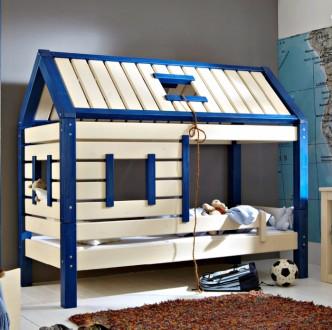Детская кроватка домик из натурального дерева. Чернигов. фото 1