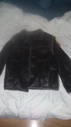 Куртка кожа. Полтава. фото 1