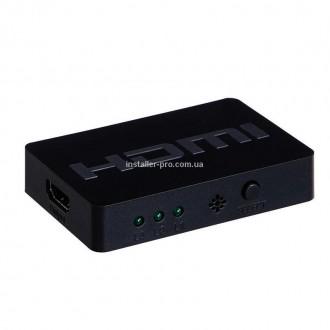 HDMI коммутатор 3Х1, 3D. Харьков. фото 1