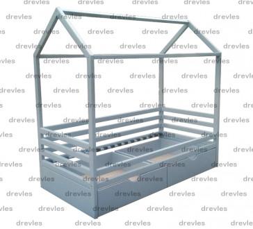 Детская домик-кровать с ящиками. Чернигов. фото 1