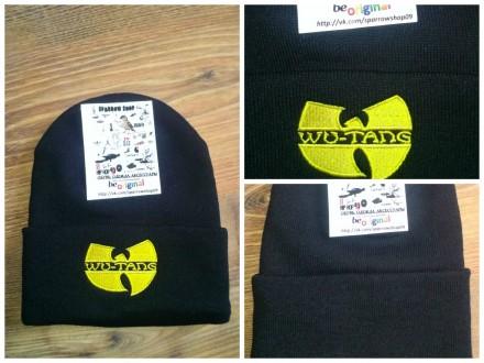 Зимняя шапка  Wu Tang Clan. New Era Stussy Adidas Supreme. Одесса. фото 1