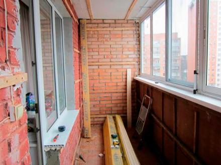 Ремонт балкона. Киев. фото 1