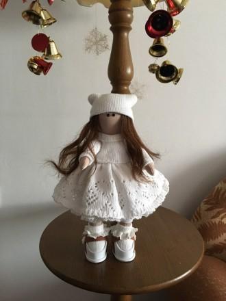 текстильная кукла ручной работы. Херсон. фото 1