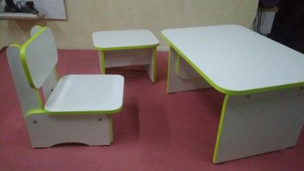Детский стол и стульчик,табурет для взрослого. Каменское. фото 1