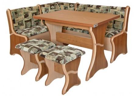 Кухонный уголок Султан кухонный стол раскладной, угловой диван, 2 табурета. Киев. фото 1