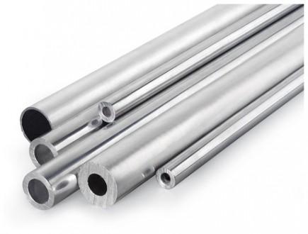 Алюминий труба  АД31 т5 , 10 мм, шир. 0.9, длин.3000 мм. Киев. фото 1