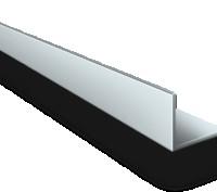 Алюминиевый уголок  АД31 т5 , 1*15*15 мм , длина 3000 мм. Киев. фото 1