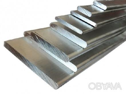 Алюминиевая шина(полоса) АД31 т5, 2*40 мм, 3000 мм Алюминиевая шина(полоса) АД3. Киев, Киевская область. фото 1