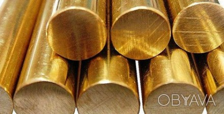 Бронзовый прут БрОЦС 5-5-5, 30 мм, 800 мм  Бронзовый прут БрОЦС 5-5-5, 35 мм, 8. Киев, Киевская область. фото 1
