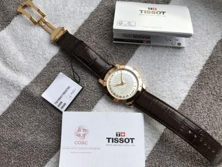 Продам оригинальный швейцарский мужской золотой хронометр фирмы Тissot, модель H. Киев, Киевская область. фото 8