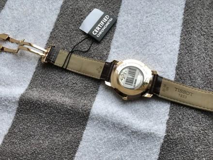 Продам оригинальный швейцарский мужской золотой хронометр фирмы Тissot, модель H. Киев, Киевская область. фото 9