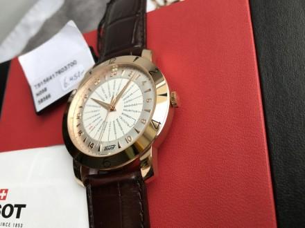 Продам оригинальный швейцарский мужской золотой хронометр фирмы Тissot, модель H. Киев, Киевская область. фото 3