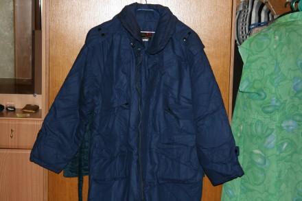 Пуховое пальто пух-перо мужское государственная фабрика YUANWANG. Одесса. фото 1