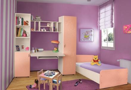 Мебель для детской комнаты Джерри (МДФ). Стенка в детскую +кровать. Киев. фото 1