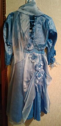 Платье на девочку 6-8 лет, нарядное (дизайнерское).. Нежин. фото 1