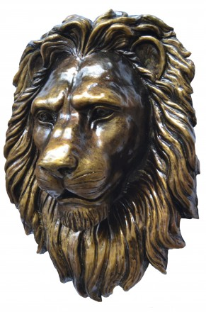 Барельеф голова льва. Коломыя. фото 1