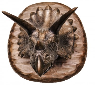 Голова трицератопса - настенный декор. Коломыя. фото 1