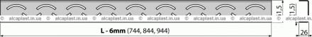 Решетки ALCA изготовлены из качественной нержавеющей стали. Для производства реш. Киев, Киевская область. фото 3