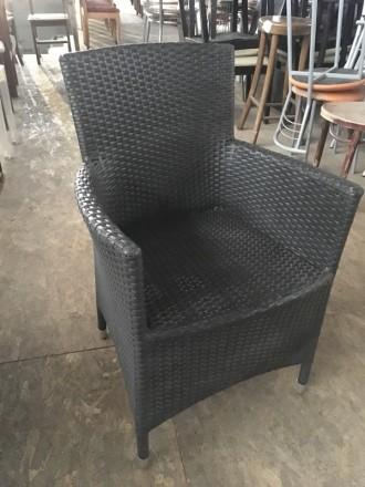 Кресло из искусственного ротанга б/у ATO Сortina  Швеция. Киев. фото 1