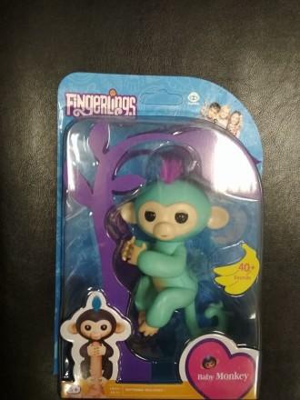 Интерактивная игрушка - Fingerling monkey. Киев. фото 1