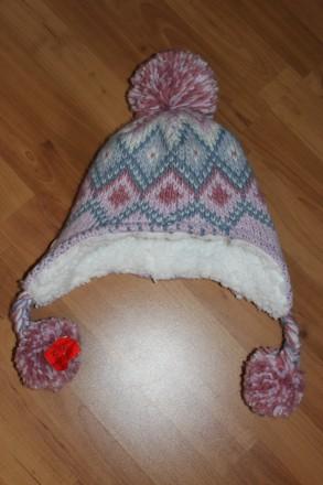 Теплюща зимова шапочка 4-8 років. Ровно. фото 1