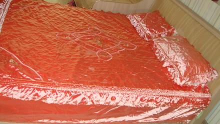 Покрывало на кровать +2 наволочки Комплект. Мариуполь. фото 1